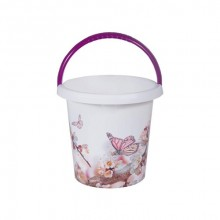 BRILANZ Kbelík plastový 10 L, motýli, 29x27,5 cm 43IML10LBTFBR