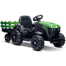 BUDDY TOYS BEC 8211 FARM Elektrický traktor + vozík 57001071