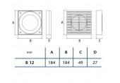 CATA Okenní souprava B-12 01920000