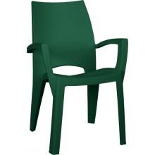 ALLIBERT SPRING zahradní židle, 59 x 67 x 88 cm, tmavě zelená 17186172