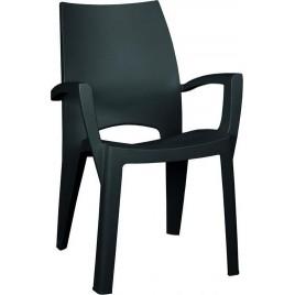 ALLIBERT SPRING zahradní židle, grafit 17186172