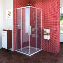 POLYSAN LUCIS LINE čtvercová sprchová zástěna 900x900mm, čiré sklo
