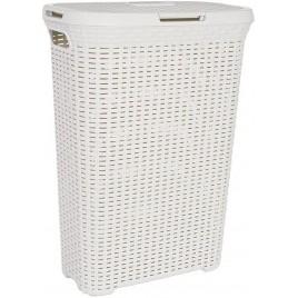 CURVER STYLE 60L Koš na špinavé prádlo 44,8 x 61,5 x 34,1 cm krémový 00707-885