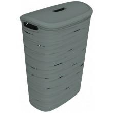 CURVER RIBBON 49L Koš na prádlo 46 x 27 x 59 cm šedý 00746-T37