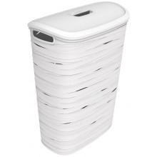 CURVER RIBBON 49L Koš na prádlo 46 x 27 x 59 cm bílý 00746-X07
