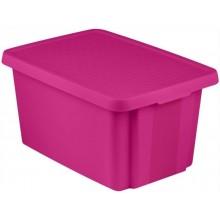 CURVER ESSENTIALS 26L úložný box 34 x 44 x 27 cm růžový 00755-437