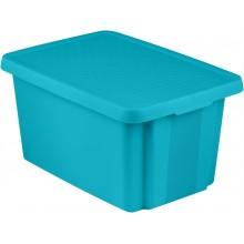 CURVER ESSENTIALS 26L úložný box 34 x 44 x 27 cm modrý 00755-656