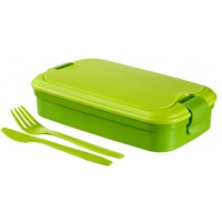 CURVER LUNCH & GO box, 32 x 13 x 7 cm, zelený, 00768-C52