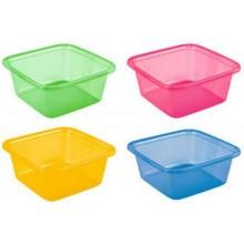 CURVER umyvadlo čtverec 4,5 l zelená 00857-999