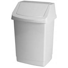 CURVER CLICK IT 9L odpadkový koš 18,9x22,9x38cm bílý 04042-026
