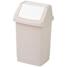 CURVER CLICK IT 9L odpadkový koš 18,9x22,9x38cm savana 04042-844