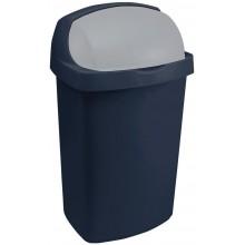 CURVER ROLL TOP 25L Odpadkový koš 34,9x29,2x56cm modrý 03976-266