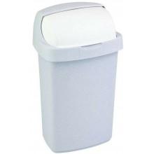 CURVER ROLL TOP 25L Odpadkový koš 34,9x29,2x56cm šedý 03976-856