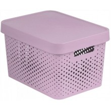 CURVER INFINITY 17L úložný box 36 x 22 x 27 cm růžový 04742-X51