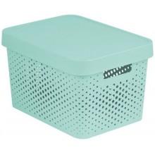 CURVER INFINITY 17L úložný box 36 x 22 x 27 cm mint 04742-Q29