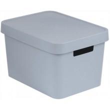 CURVER INFINITY 17L úložný box 36 x 22 x 27 cm šedý 04743-099
