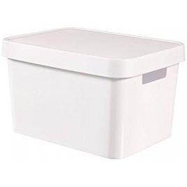 CURVER INFINITY 17L úložný box 36 x 22 x 27 cm bílý 04743-N23
