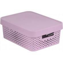 CURVER INFINITY úložný box 36 x 14 x 27 cm růžový 04753-X51