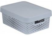 CURVER INFINITY 11L úložný box 36 x 14 x 27 cm šedý 04753-099