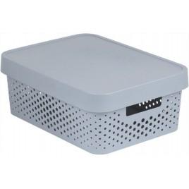 CURVER INFINITY úložný box 11 L šedý 04753-099