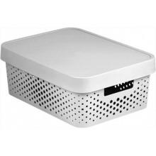 CURVER INFINITY 11L úložný box 36 x 14 x 27 cm bílý 04753-N23