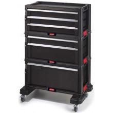 KETER Box na nářadí 6 zásuvek 56,5x75x29cm černý 17201228