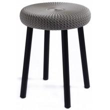 CURVER KNIT stolička plast 35 x 44 cm hnědá 09023-X59