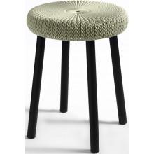 CURVER KNIT stolička plast 35 x 44 cm krémová 09023-X64
