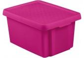 CURVER ESSENTIALS 16L úložný box 39 x 30 x 21 cm růžový 00753-437