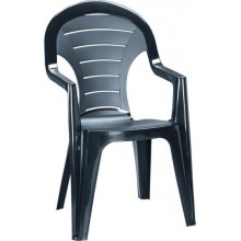 ALLIBERT BONAIRE zahradní židle, 56 x 57 x 92 cm, grafit 17180277