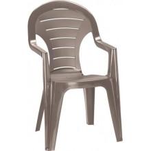ALLIBERT BONAIRE zahradní židle, 56 x 57 x 92 cm, cappuccino 17180277