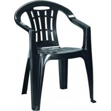 CURVER MALLORCA zahradní židle, 56 x 58 x 79 cm, grafit 17180335