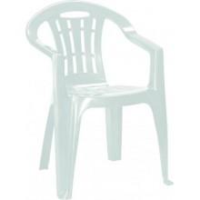 CURVER MALLORCA zahradní židle, 56 x 58 x 79 cm, bílá 17180335