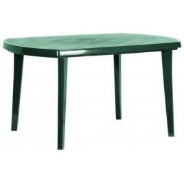 CURVER ELISE stůl 137 x 90 x 73 cm, tmavě zelená 17180054