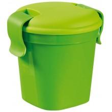 CURVER LUNCH & GO S 0,4L 11x11x11cm hrnek zelený 00739-C52