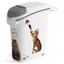 CURVER kontejner na suché krmivo 10kg/23L kočka 03882-L30