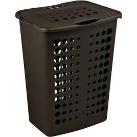CURVER Koš na prádlo, 50 x 39,7 x 29,9 cm, 40 l, tmavě hnědá, 00047-210
