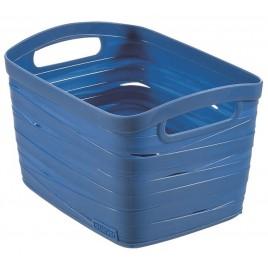 CURVER úložný box RIBBON S, 18 x 26 x 21 cm, 8 l, modrý, 00718-X08