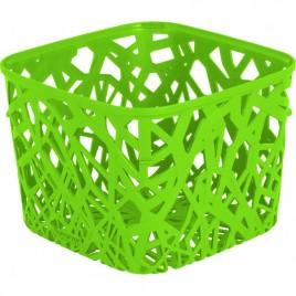 CURVER košík NEO SQUARE, 19,2 x 19,2 x 14,4 cm, zelený, 04160-598