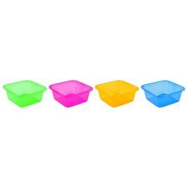 CURVER umyvadlo čtverec 7,2 l zelená 00858-999