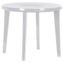 CURVER LISA stůl 90 x 73cm, světle šedá 17180053