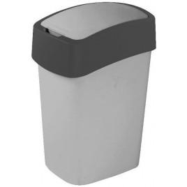 CURVER Odpadkový koš Flipbin, 47 x 26 x 34 cm, 25 l, šedý, 02171-686