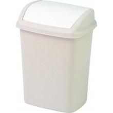 CURVER Odpadkový koš SWING, 20 x 25 x 36 cm, 10 l, savana/oranžová 05312-844