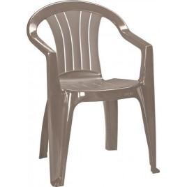 VÝPRODEJ CURVER SICILIA zahradní židle, Cappuccino 17180048 II.JAKOST - RÝHA