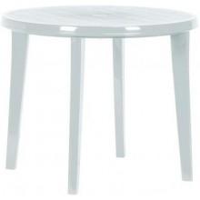 CURVER LISA stůl 90 x 73cm, bílá 17180053