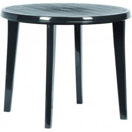 VÝPRODEJ CURVER LISA stůl 90 x 73cm, grafit 17180053 BEZ KRYTKY NA SLUNEČNÍK