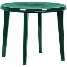 CURVER LISA stůl 90 x 73cm, tmavě zelená 17180053