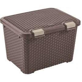 CURVER STYLE 43L úložný box 49 x 40 x 34 cm hnědý 00711-210