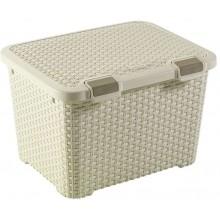CURVER STYLE 43L úložný box 49 x 40 x 34 cm krémový 00711-885