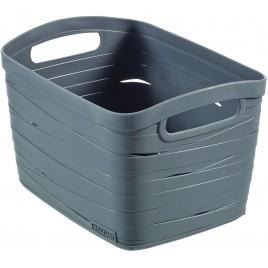 CURVER úložný box RIBBON S, 18 x 26 x 21 cm, 8 l, šedý, 00718-T37